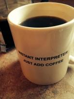 just add coffee!